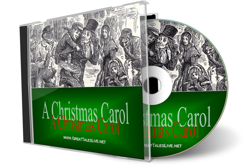"""A Christmas Carol"" on CD (from GreatTalesLive.net)"