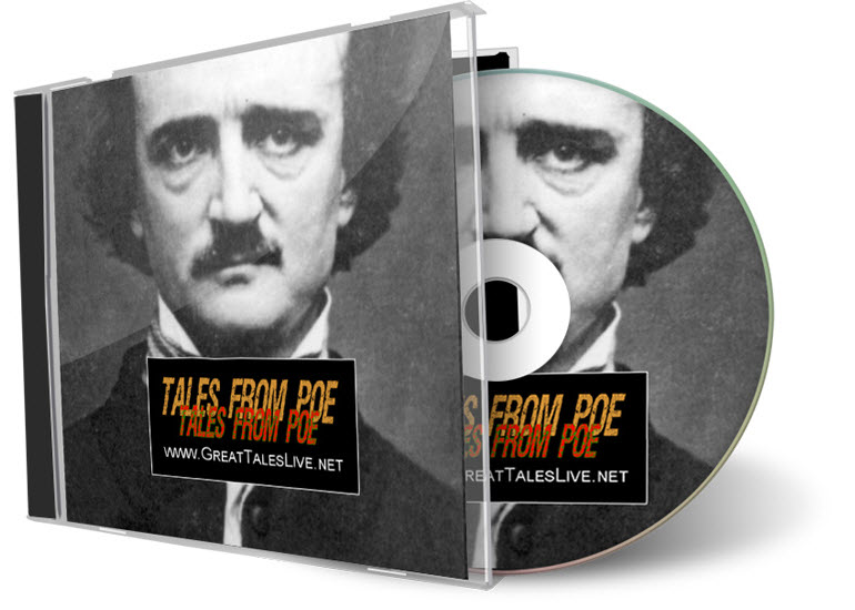 """Tales From Poe"" on CD (GreatTalesLive.net)"